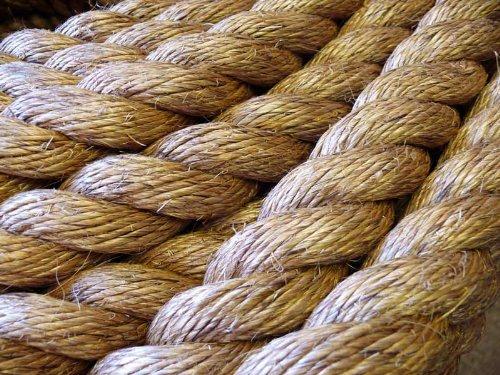 WESTWARD Manila, Natur rope (20 mm) Für Terrassen, Gärten, Für Bootsausflüge, Klettern rope. Zerr-, Preis Pro Meter