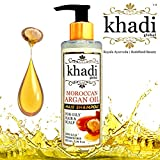 Khadi Global Moroccan Argan Oil Hair Shampoo For Oily Hair & Scalp | First Time In India An Oil Control Argan Shampoo Specially Formulated For Colored, Oily Hair & Oily Scalp | Give Your Hair Soft & Shinny Look | 100% SLS & Paraben Free | Oil Control Shampoo | 200ml