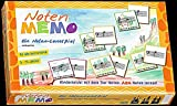 NOTEN-MEMO -- ein Noten-Lernspiel für Kinder, Jugendliche, Eltern und Lehrer -- Noten lesen kinderleicht erlernen!