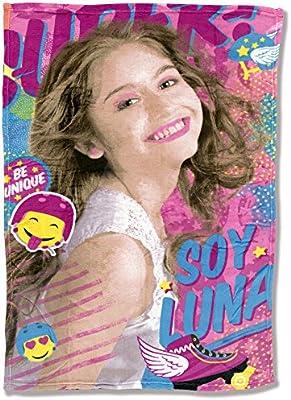 Manta coralina Soy Luna Disney