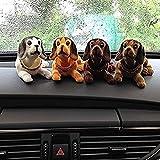 #5: Crispy Deals Car Dashboard Toy, Shaking Head Dog Figurine (Nodding Dog)