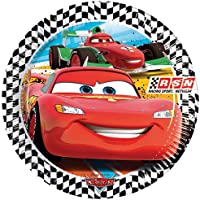 Amscan Cars Racing Sports Network Paper Large Plates Party Accessory