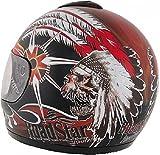 ROADSTAR Integral-Helm Revolution , Dekor Limited 2011 rot Größe XL