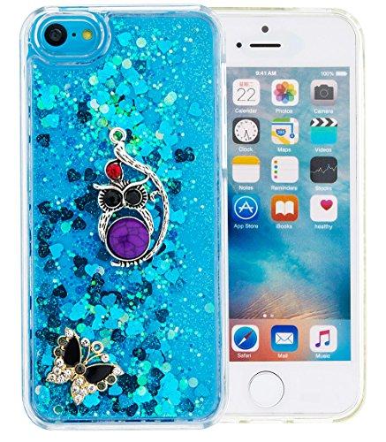 nnopbeclik-pc-hlle-transparent-fr-apple-iphone-5c-durchsichtig-ultra-slim-silikon-3d-flieende-flssig