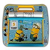TW24 Minions Rolling Art Desk - Minion Zeichenpult - Maltisch - Kindermaltisch - Malset