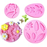 TALITARE Butterfly Silicone Fondant Mold Cake Jelly Molds Kitchen Baking Tool Chocolate Mould By HaiLi Flower Fondant Candy S
