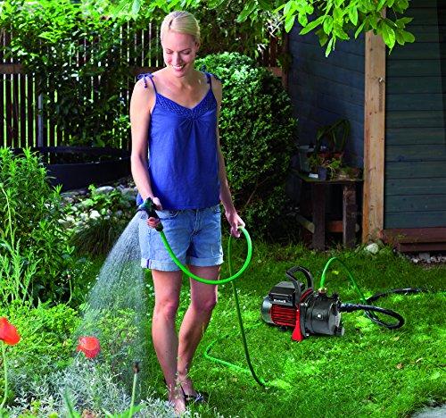 Einhell Gartenpumpen Set GC-GP 6538 Set (650 W, 3800 L/h Fördermenge, max. Förderdruck 3,6 bar, Wassereinfüllschraube, Wasserablassschraube)