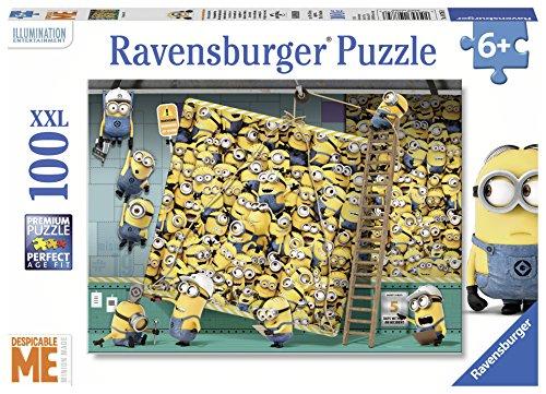 Preisvergleich Produktbild Minions Puzzle 100 Teile XXL