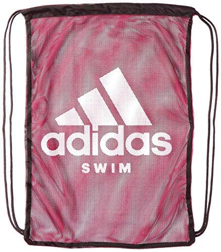 Adidas Swimming Bolsa de Cuerdas para el Gimnasio 40 Centimeters Negro (Black/Shock Pink/White)