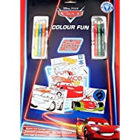 Disney Pixar Cars: Colour Fun Colouring & Pencils Set