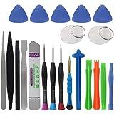 Cochanvie 21 in 1 Mobile Phone Repair Tools Kit Spudger Pry Opening Tool Screwdriver Set for iPhone XR Xs X 8 7 6S 6 Plus Han