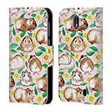 Official Micklyn Le Feuvre Guinea Pigs And Daisies In