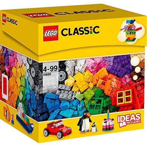 LEGO Classic Caja de Construcción Creativa - juegos de construcción (Multicolor, 4 año(s), 580 pieza(s), 99 año(s))
