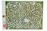 Labyrinth - Tischunterlage / Unterlage 43 cm * 31 cm Eßunterlage Knobelspiel Amazonas Malunterlage