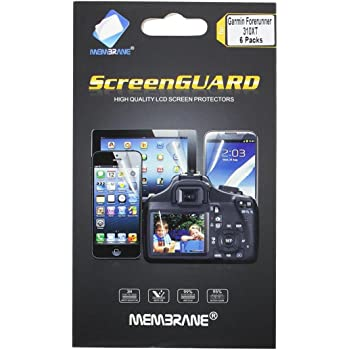3 x Membrane Films de protection écran Garmin Forerunner 310XT - Ultra clair, kit d'installation