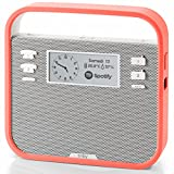 Triby - Enceinte Connectée Portable et Intelligente, Rouge