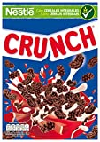 Cereales Nestlé Crunch Cereales de trigo, arroz y maíz tostados con chocolate - Paquete de cereales de 375 gr