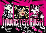 Associated Weavers Tapis Monster High Polyamide Mousse Gel 95 x 133 cm