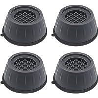 Piedini per Lavatrice Antivibrazione 4 Pezzi Supporto per Asciugatrice Antiscivolo Piedini Lavatrice Riduce Rumore…