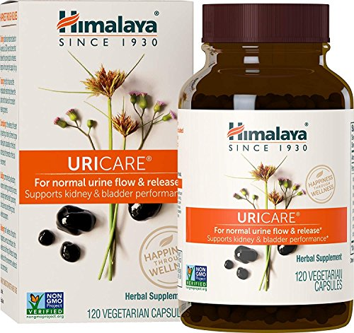 URICARE for Kidney and Bladder Performance - Cystitis And Urinary Tract Infection Supplement - 840mg 120 Capsules- By Himalaya (Since 1930)
