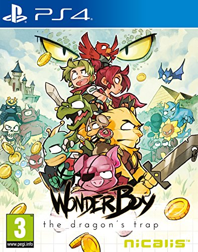 Wonder Boy – The Dragon's Trap 61TtxgWom0L