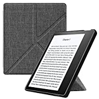 FINTIE Origami Case for Kindle Oasis (9th Generation, 2017 Release ONLY) - Slim Fit Stand Protective Cover with Auto Wake/Sleep for Amazon All-New 7