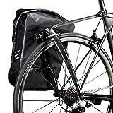 Schwanzflosse Ultra langlebig Paket | T1Carbon Bike Rack + 1x UD | hinten Fahrradtasche Gepäckträger für Rennräder mit Langlebig und wasserdicht paar