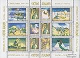 Rumänien 5741-5750 Zd-Bogen (kompl.Ausg.) 2003 Gemälde von Victor Brauner (Briefmarken für Sammler) Malerei