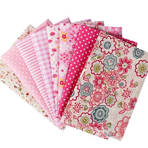 tela-de-algodn-de-patchwork-y-manualidades-serie-caliente-rosado-pequea-pieza-de-tamao-24x24cm-en-co