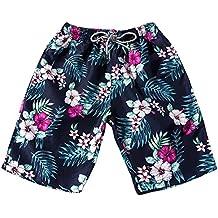 Pantalones Hombre Verano, Naturazy Deportes De Moda Transpirable Floral Printed Pantalones De Vintage Fitness Running