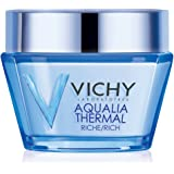 Vichy Aqualia Thermal Rich Cream 48 Hour Facial Moisturizer with Hyaluronic Acid for Dry Skin, 1.69 Fl. Oz. (Packaging may va
