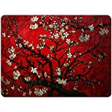 Meffort Inc Gaming Mouse Pad XL Mat - Vincent van Gogh Cherry Blossoming