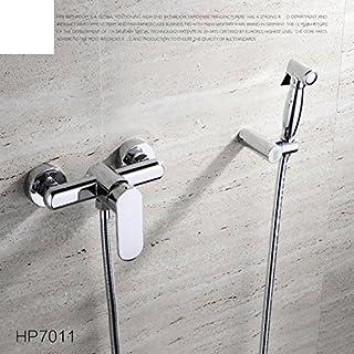 WP All Copper hot and Cold Bidet Bidet wash/Bidet Faucet/Toilet Spray Gun Kit