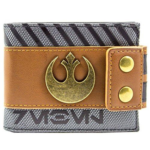 Star Wars Rogue Ein Rebell Symbol Braun Portemonnaie Geldbörse (Rogue Jedi Kostüm)