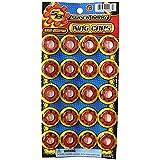 8 Shot Plastic Ring Capsules Super Bang Caps 2 Sheets Of 320 Shots (640 Shots Total)