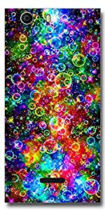 SEI HEI KI Back cover for Micromax Canvas Nitro 2 E311-Multicolor