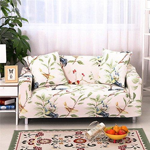 Sofa Bezug Stretch Elastischer Stoff Stuhl Liebesschaukel Sofa Couch Strechhusse Stretch-Sofabezüge Sofahusse Sofaüberwurf (D, L)