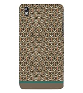 PrintDhaba Pattern D-1519 Back Case Cover for HTC DESIRE 816 (Multi-Coloured)