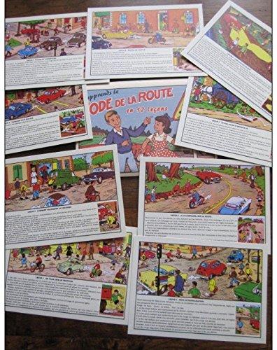 16 Cartes Dans Enveloppe : J'apprends Le Code De La Route En 12 Leçons (2011)