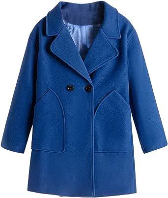 Donna Elegante Cappotti Trench Risvolto Cappotto Lungo Giacca Moda Lunghe Cappotto di Lana Caldo Cappotti