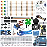 REES52 The Basic Starter kit for Arduino with UNO R3, Breadboard, LED, Resistor,Jumper