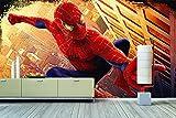 'WandbilderXXL® Papier peint photo non-tissé Motif Spiderman 300x 200cm-peint en 6différentes tailles pour le salon ou le bureau-- QUALITÉ DE QUALITÉ photo mural XXL