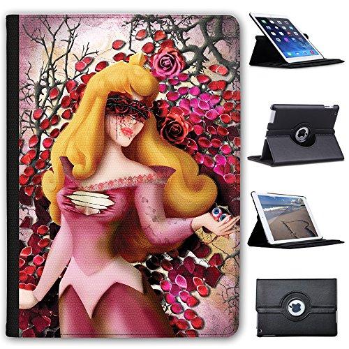 Fancy A Snuggle Schlafende Prinzessin ohne Augen Pink Case Cover/Folio aus Kunstleder für Das Apple iPad Pro 9.7