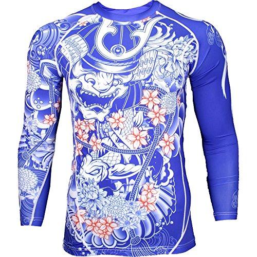 Rashguard Grips Bushido Limited Edition-l MMA BJJ Fitness Grappling Camiseta de compresión
