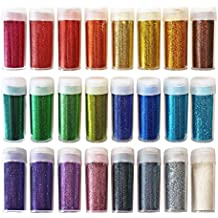 Set di glitter in colori assortiti -