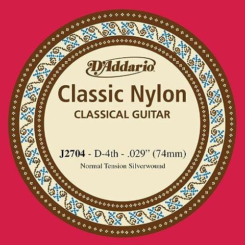 D'Addario J2704 Einzelsaite Classic Nylon, D-4th (D & G Masculine For Men Eau De Toilette)