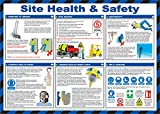 Best Safety Posters - Safety First Aid Laminated Site Health and Safety Review