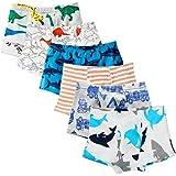 Anntry Ropa Interior para niños pequeños de algodón Suave Calzoncillos de Bóxer Surtidos para niños pequeños Edad 2-7 años (P