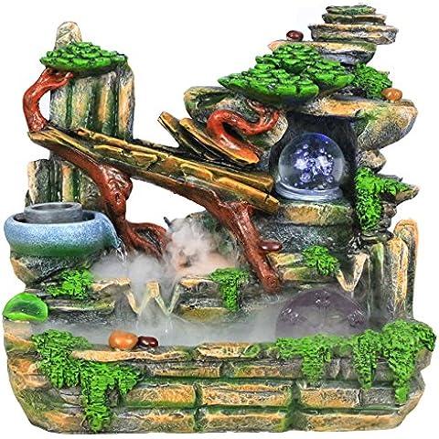 MYM Decorazione della casa d'affari regali rocaille e acqua fontane, mestiere fortunato di tavoli salotto (Tavolo Cornucopia)