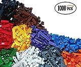 Cenblue 1000 Building Bricks - Kindergebäude Tight Fit und kompatibel mit allen großen Marken - die meisten sind große Blöcke